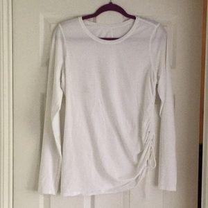 White Lululemon long sleeve